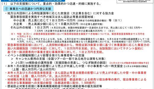 【国の新たな経済支援策】